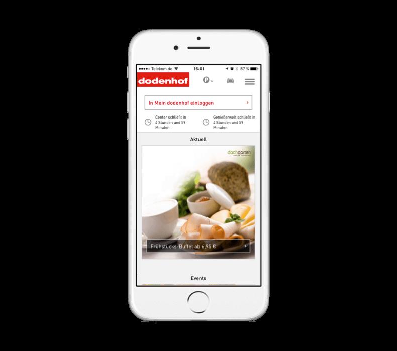 dodenhof iPhone iOS Store Bonuspunkte Aktuell 002