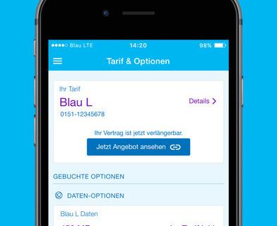 Blau Mobilfunk iPhone iOS Tarifübersicht 009