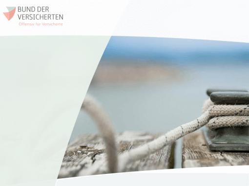 BDV | VERSICHERUNGEN EINFACH UND MOBIL PRÜFEN