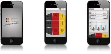 DRI iPhone iOS Deutsche Renten Informations App