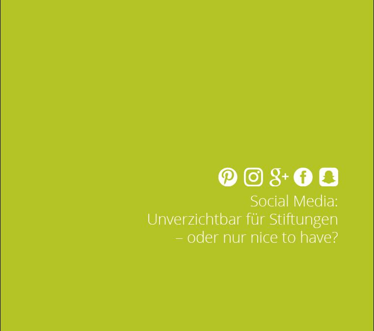 """Einladung zum Workshop """"Social Media für Stiftungen"""" am 06. Februar in Hamburg"""